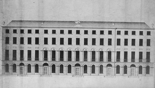 1792 – Design for Royal Circus, Dublin