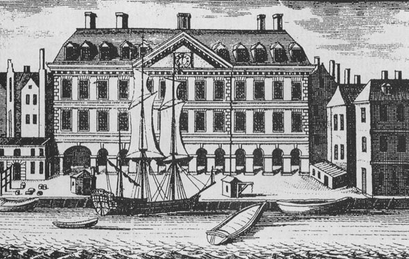 1707 – Custom House, Dublin
