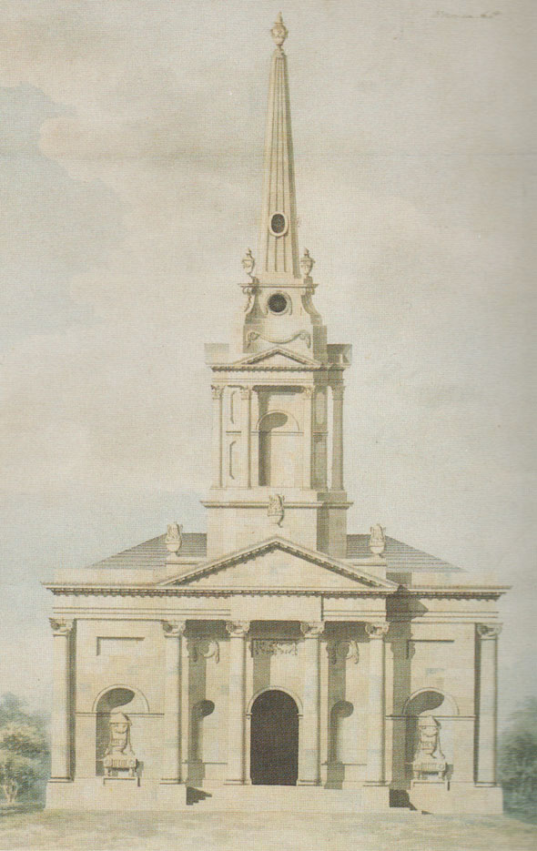 1801 &#8211; Proposal for St. George&#8217;s Church, Dublin