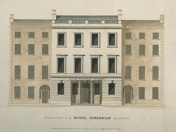 1824 – Royal Hibernian Academy, Lower Abbey St., Dublin