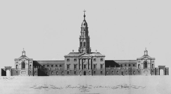 1773 – Blue Coat School, Blackhall Place, Dublin