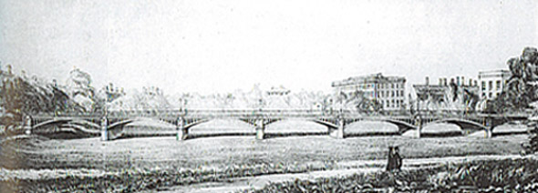 1850s – Road Viaduct, Trinity College Dublin