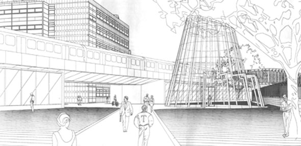 2000 – Underground Walkway & Development, Trinity College Dublin