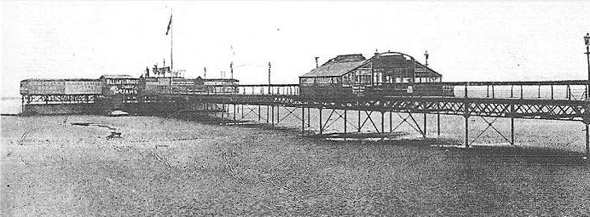 1884 &#8211; Merrion Pier and Baths, Dublin