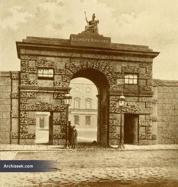 1747 – Leinster House Gateway, Dublin
