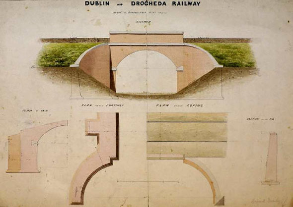 1860s – Bridge, Dublin & Drogheda Railway, Skerries, Co. Dublin