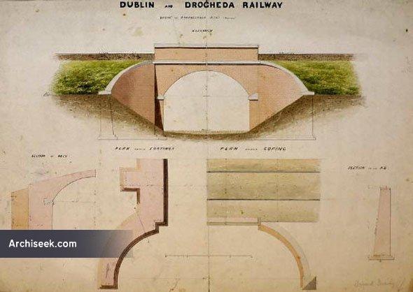 1860s – Bridge, Dublin & Drogheda Railway, Skerries, Co. Dublin