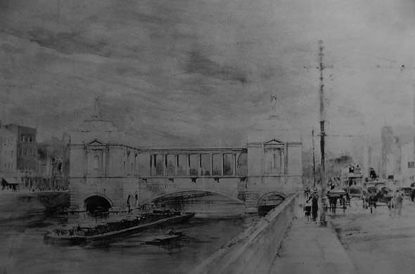 1912 &#8211; Liffey Bridge Gallery Proposal, Dublin
