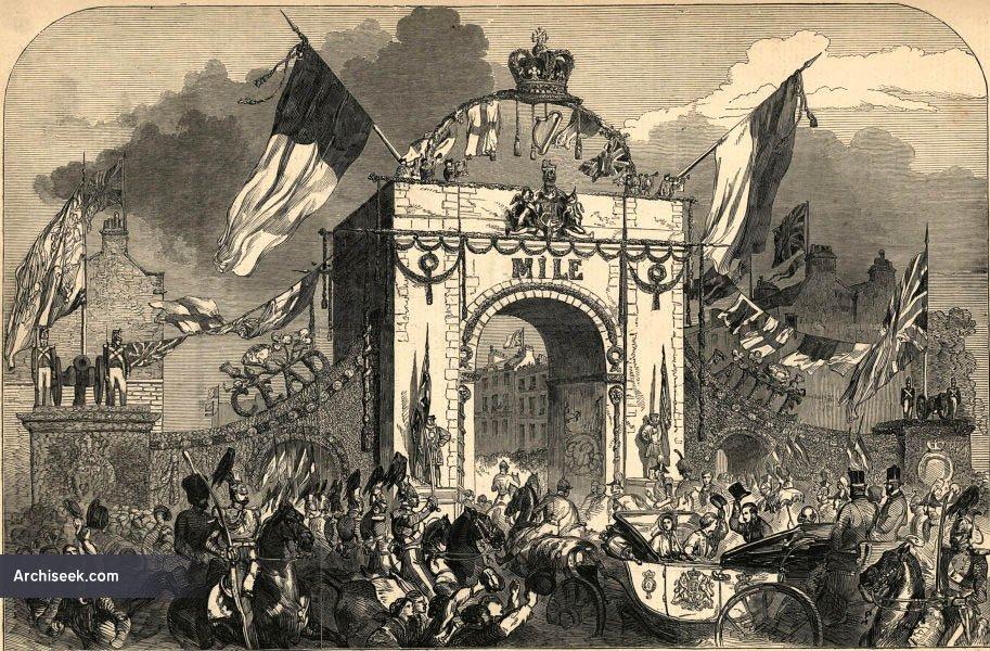1849 – Royal Triumphal Archway, Baggot Street, Dublin