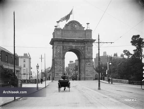 1903 – Royal Triumphal Arch, Leeson Street, Dublin