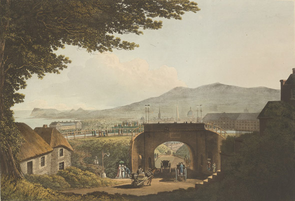 1796 &#8211; Foster Aqueduct, Constitution Hill, Dublin