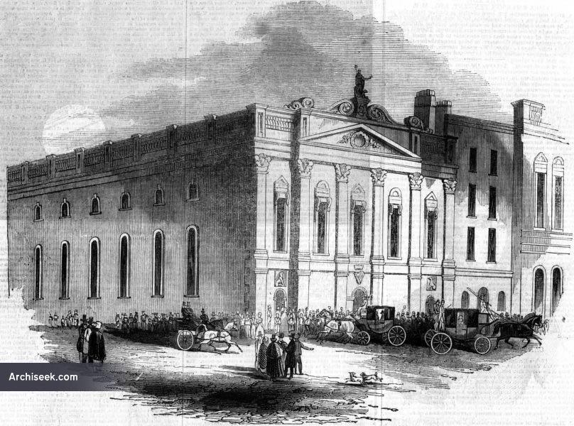 1843 – Conciliation Hall, Burgh Quay, Dublin