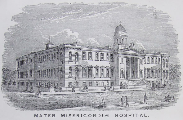 1893 – Unbuilt adaptations to Mater Misericordiae Hospital, Dublin