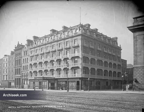 1893 – Hotel Metropole, O'Connell St., Dublin