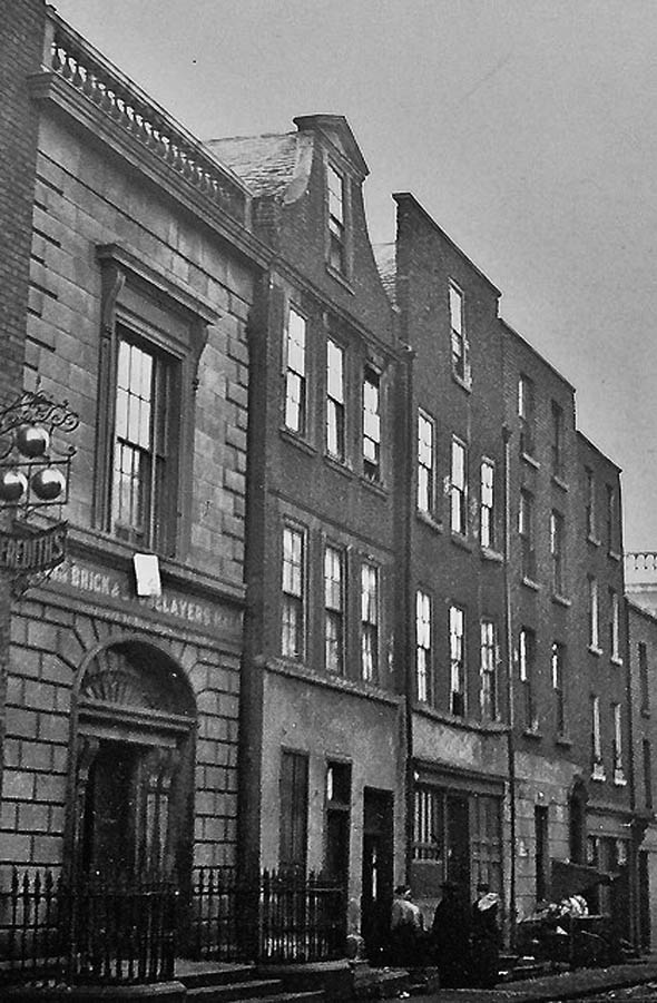 1812 – Bricklayers Hall, Cuffe St., Dublin