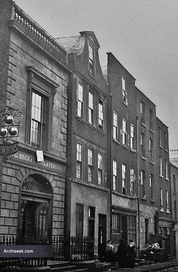 1812 – Bricklayers Hall, Cuffe St., Dublin