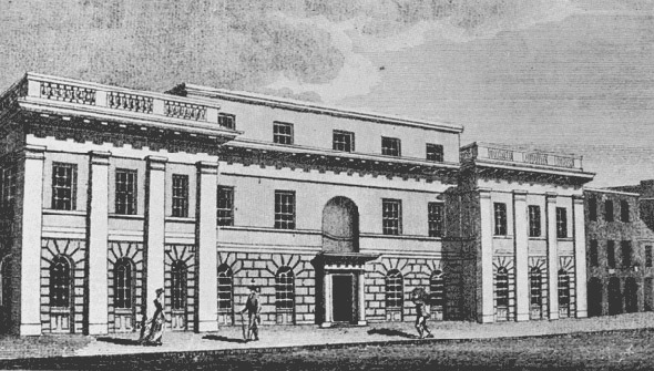 1796 &#8211; Dublin Society, Hawkins St., Dublin