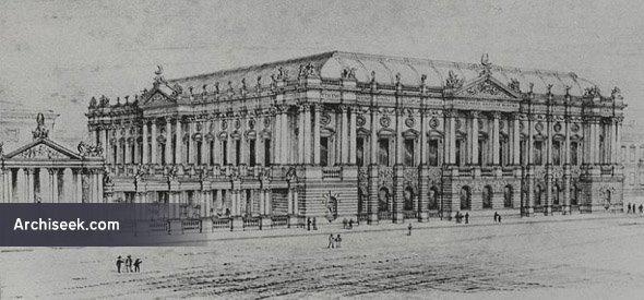 1883 – Design for National Museum, Dublin