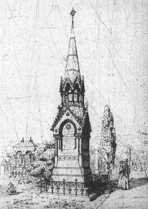 1889 &#8211; Cassidy Monument, Glasnevin Cemetery, Dublin