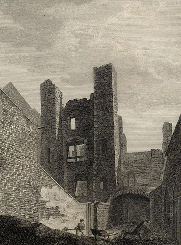 15th C. – Brown's Castle, Dublin
