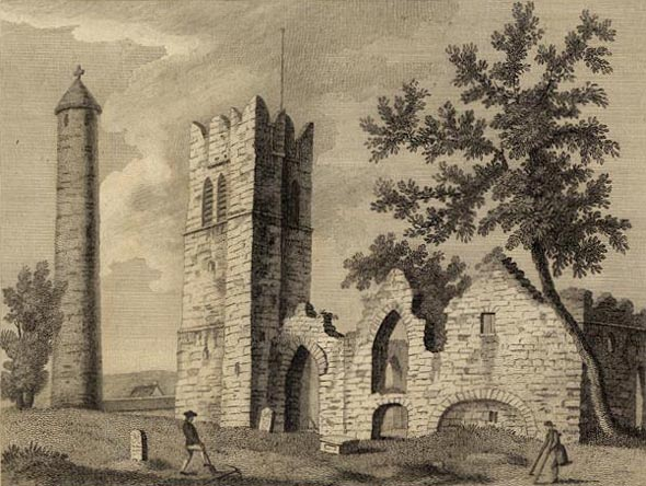 Church & Round Tower, Swords, Co. Dublin