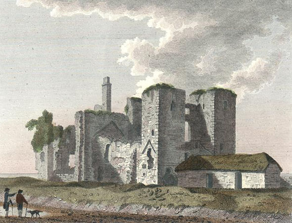 1260 &#8211; Baldongan Castle &#038; Church, Co. Dublin