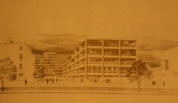 1966 – Office Scheme for Baggot St., Dublin