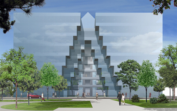 2004 – Proposal for Anglo-Irish Bank Headquarters, Dublin
