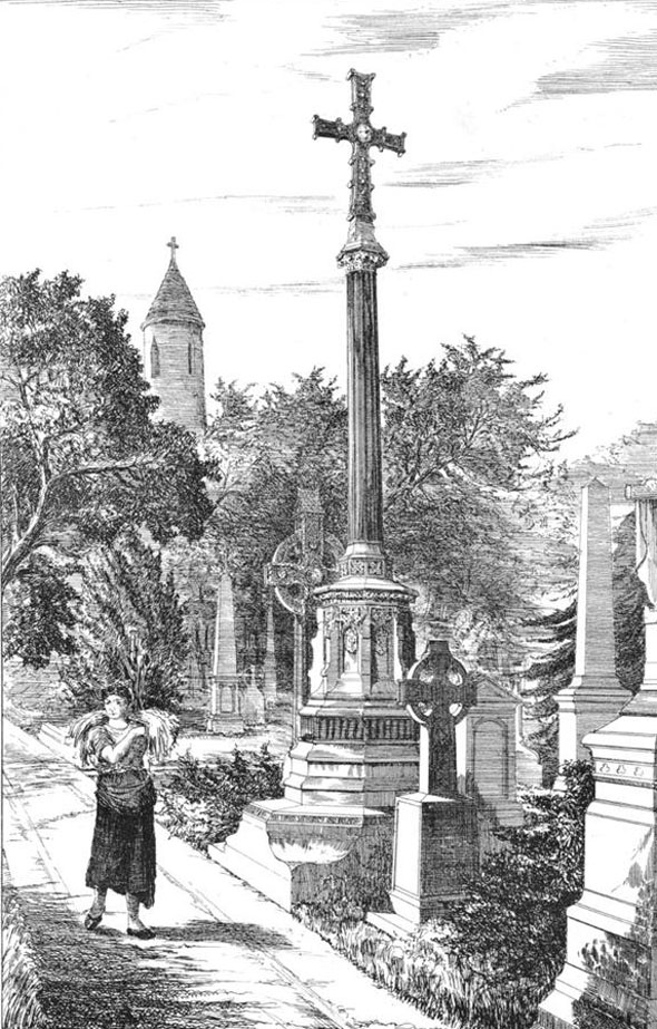 1882 &#8211; T.H. Burke Memorial, Glasnevin Cemetery, Dublin