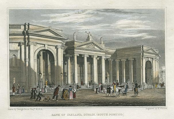 1803 &#8211; Former Houses of Parliament / Bank of Ireland, College Green, Dublin