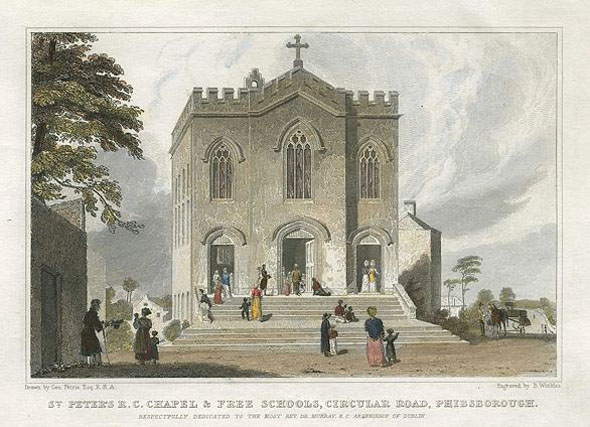 1826 &#8211; St. Peter&#8217;s Chapel &#038; Free School, Phibsborough, Dublin