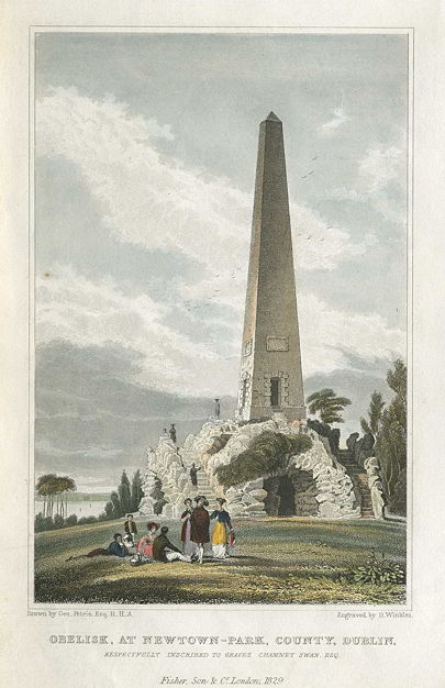 1727 – Obelisk, Newtown-Park, Stillorgan, Co. Dublin