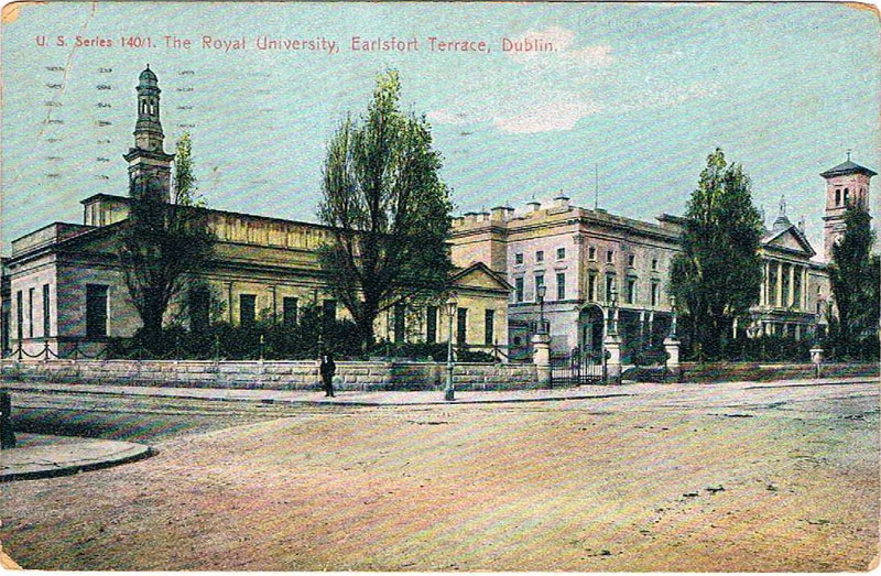 1880 – Royal University of Ireland, Earlsfort Terrace, Dublin
