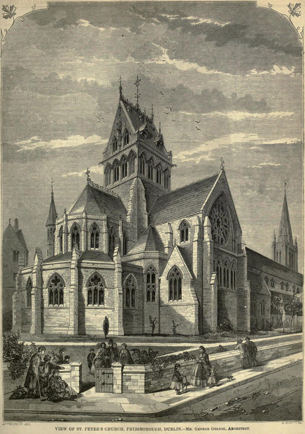 1862 – St. Peter's Church, Phibsborough, Dublin