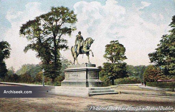 1880 – Field-Marshal Gough Statue, Phoenix Park, Dublin