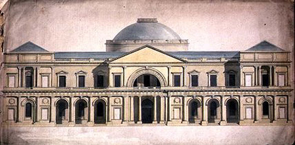 1769 – Design for Royal Exchange, Dublin