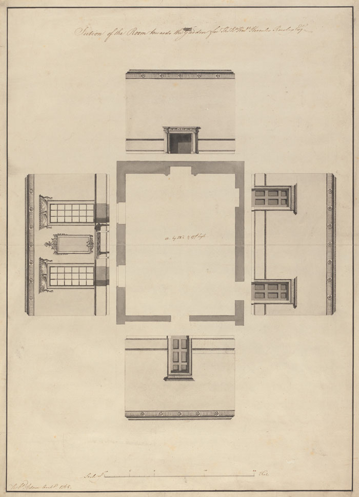 1765 &#8211; Interior Designs, Langford House, Mary St., Dublin