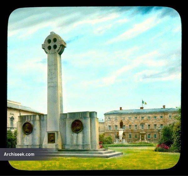 1923 – Cenotaph, Leinster House, Dublin