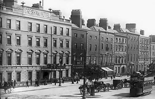 1832 &#8211; Gresham Hotel, O&#8217;Connell St., Dublin