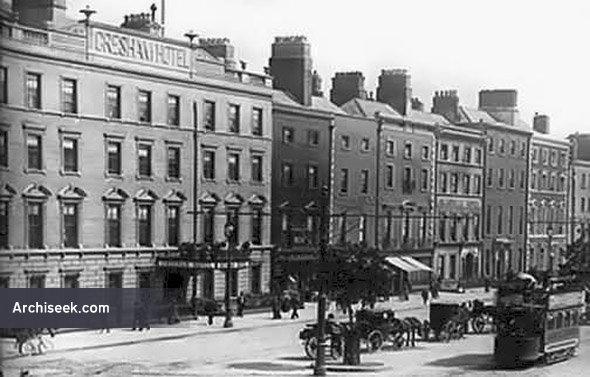 1832 – Gresham Hotel, O'Connell St., Dublin