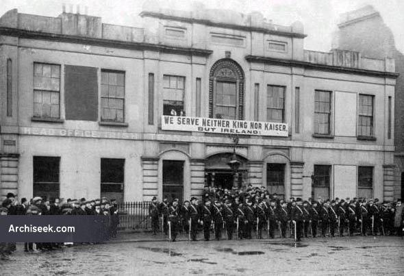 1820s – Northumberland Hotel  (Liberty Hall), Eden Quay, Dublin