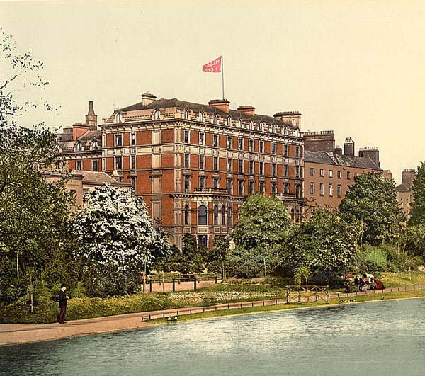 1867 – Shelbourne Hotel, St. Stephen's Green, Dublin