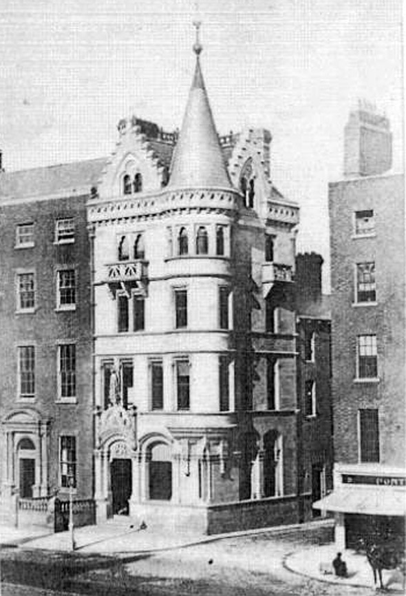 1867 – Scottish Provincial Assurance Co., O'Connell St., Dublin