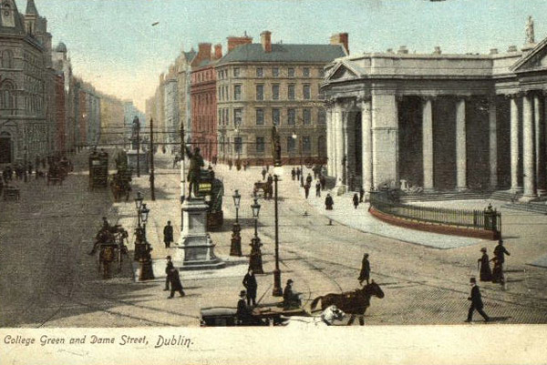 1867 – Liverpool, London & Globe Insurance Co., College Green, Dublin