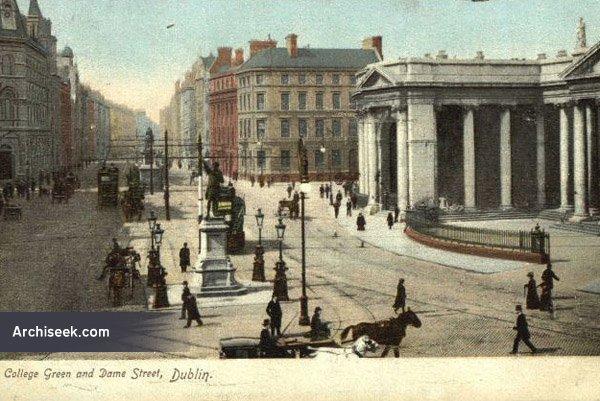 1867 – Liverpool, London & Globe Insurance Co., College Green, Dublin