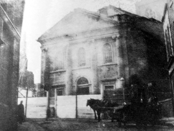 1769 – St. John the Evangelist Church, Fishamble St., Dublin