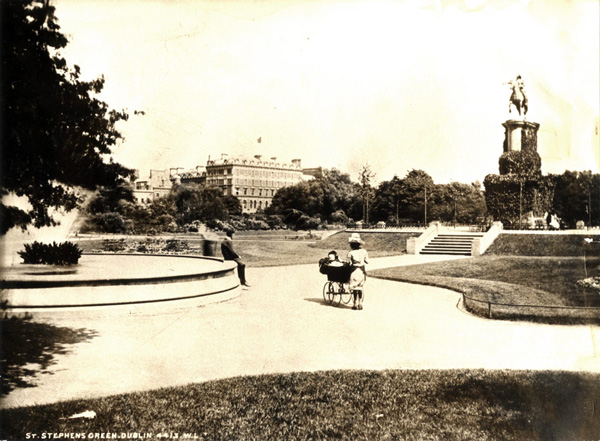 1758 &#8211; Statue of George II, St. Stephen&#8217;s Green, Dublin