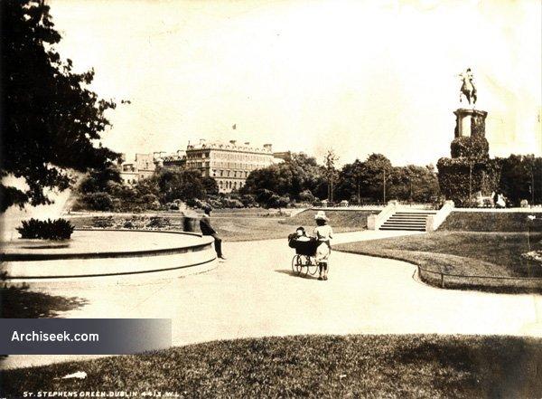 1758 – Statue of George II, St. Stephen's Green, Dublin