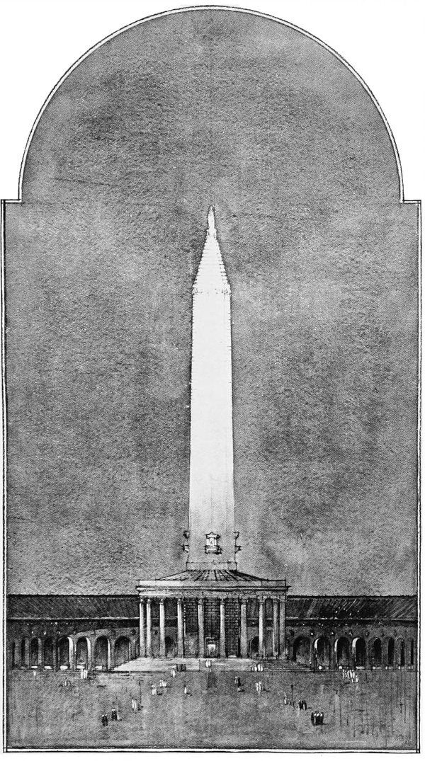 1922 &#8211; Abercrombie Proposal for National Cathedral, Dublin