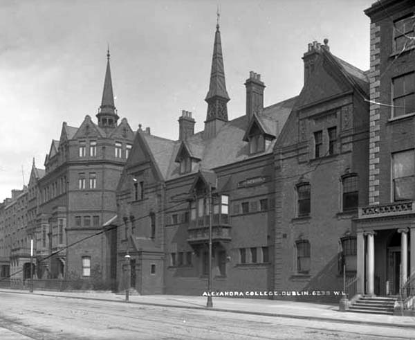 1889 – Alexandra College, Earlsfort Terrace, Dublin